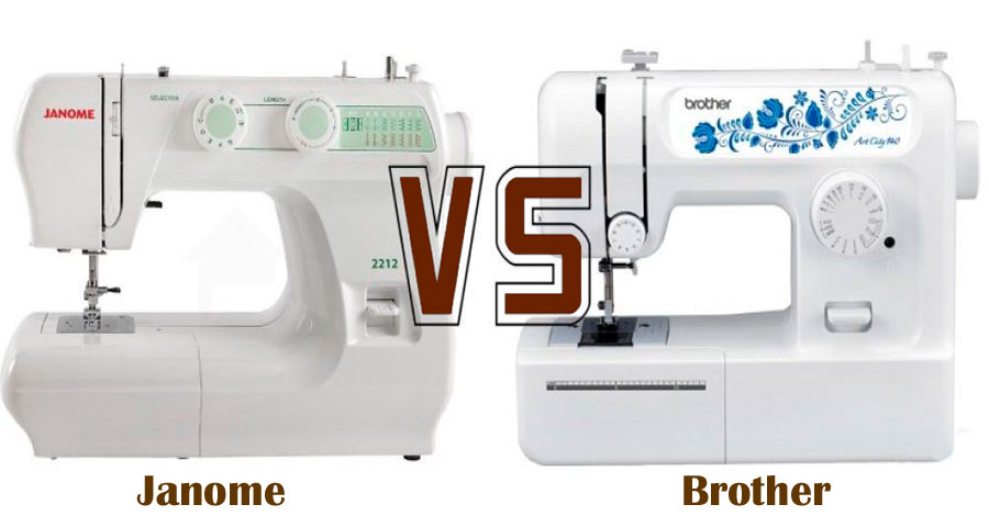 Janome VS Brother Sewing Machine