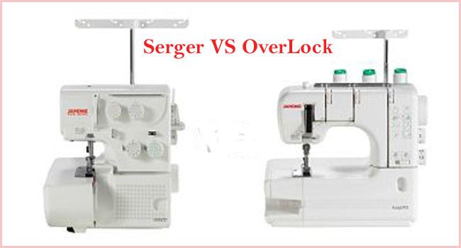 Serger VS Overlock